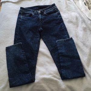 Divided Acid Dark Wash Skinny Jeans